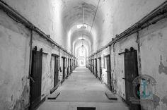 Eastern State Pen Historic Prison Photo Industrial Decor Architecture Fine Art Photograph Choose Lustre Print, Canvas or Bamboo Mount