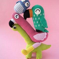 Amigurumi crochet patterns by Garnknuten | AMIGURUMI DESIGNER in Helsinki. #Regram via @CP8iYvMt-6O Crochet Food, Grow Together, Crochet Patterns Amigurumi, Diy Toys, Stuffed Toys Patterns, Handmade Toys, Dinosaur Stuffed Animal, Helsinki, Kids