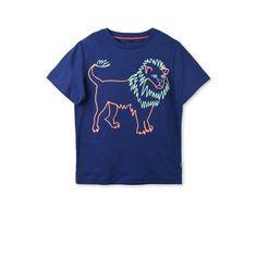 Midnight Arrow Lion Print T Shirt - Stella Mccartney Kids Official Online Store - SS 2017