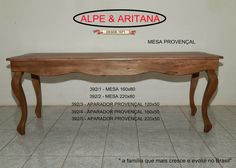 Mesa de madeira trabalhada, perfeita para decorar as festas mais lindas!! Acesse nosso site: www.alpearitana.com.br ou fale conosco: marketing@alpearitana.com.br