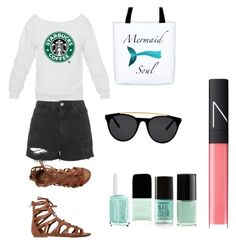 """""""Beach chick"""" by luisa-shield on Polyvore featuring Topshop, O'Neill, Smoke & Mirrors and NARS Cosmetics"""