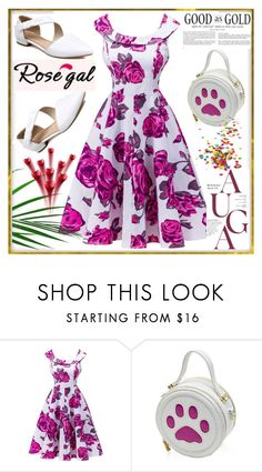 """Rosegal 5"" by lili-876 ❤ liked on Polyvore featuring Whiteley and vintage"
