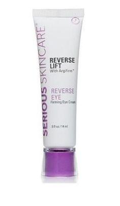Serious Skin Care Reverse Lift Argifirm Firming Eye Cream JUMBO 1 Oz New Sealed