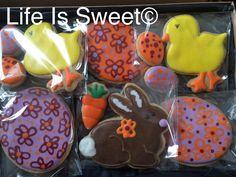 Easter cookies by Life Is Sweet