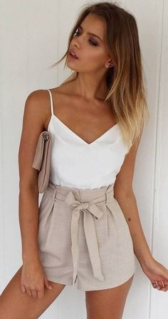#muraboutique #label #outfitideas |  White + Nude