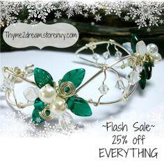 Fairy jewelry flash sale thru monday Dec 1- please share :-) #fairy #blackfriday #cybermonday #storenvy