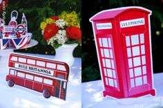 Rule Britannia: A British Inspired Street Party to Celebrate the Queen's Diamond Jubilee! by Bird's Party