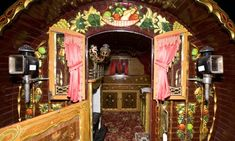 Gypsy caravans and artefacts go under the hammer at Paultons Romany Museum on Wednesday Photograph: Katherine Rose