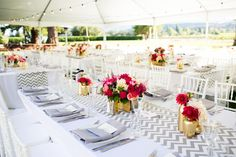 Photography: Janae Shields Photography - janaeshields.com  Read More: http://www.stylemepretty.com/california-weddings/2014/05/08/modern-sonoma-wedding-at-chateau-st-jean/