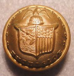 Civil War Non-Dug New York Button (22mm)/ Steele & Johnson Backmark