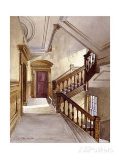 Sir Christopher Wren's House, Botolph Lane, London, 1886 Giclee Print by John Crowther at AllPosters.com
