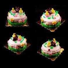 Easter  Cake  - Dollhouse Miniature Food Handmade