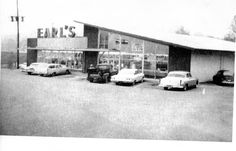 Earl's Supermarket in early Fredericksburg Virginia, Falls Church, Winchester, Postcards, The Past, Places To Visit, Photos, Pictures, Barn