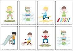 Teaching verbs and simple sentences