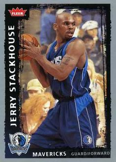 RARE 08/09 FLEER JERRY STACKHOUSE DALLAS MAVERICKS MINT