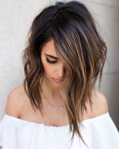 10 Ombre Balayage Hairstyles for Medium Length Hair, Hair Color 2019 Stylish Ombre Balayage Hairstyles for Medium Length Hair, Medium Hairstyle Color Ideas – Station Of Colored Hairs Brown Hair Balayage, Brown Blonde Hair, Hair Highlights, Ombre Balayage, Caramel Highlights, Balayage Hairstyle, Brown Ombre Hair Medium, Short Balayage, Balayage Straight