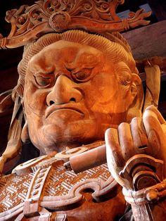Buddha Hall of Todaiji Temple in Nara, Japan