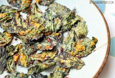 First Snow + {Honey Mustard Kale Chips} | Nosh and Nourish