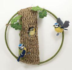 The bluetit's nest