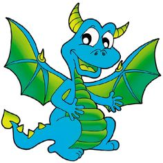dragon clipart cartoon - Cerca amb Google