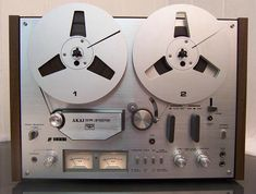 The reel to reel tape recorder