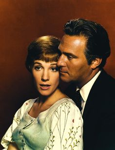 Julie Andrews and Christopher Plummer in The Sound of Music.  Who doesn't have a big ole crush on Capt. Von Trapp?