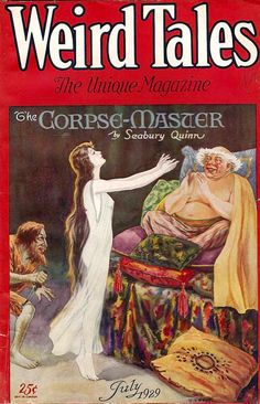 Weird Tales magazine from July 1929.
