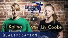 Liv Cooke vs Kalina Matysiak w freestyle. #football #soccer #sports #sport #pilkanozna #futbol #freestyle