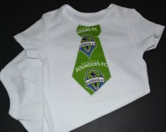 Seattle Sounders FC - Seattle Sounders Baby - Sounders Shirt - Seattle Sounders Outfit - Sounders Tie