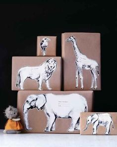 Safari Gift Labels | 42 Amazingly Fun And Useful Things You Print For Free