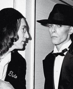 Lennon & bowie