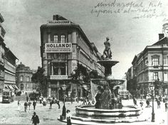 Kálvin tér Budapest Hungary, Vintage Photography, Old Pictures, Pepper, The Past, Landscapes, Marvel, History, Retro