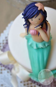 Gumpaste mermaid tutorial