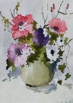 Watercolours - All - Marjorie Best