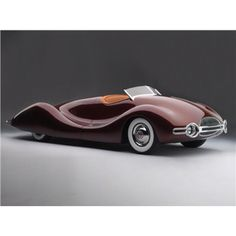 """maceobennett: """" Buick Streamliner, 1948 """" Curves like these inspire poetry. The 1948 Buick Streamliner by Norman E. Timbs is a muse in the world of classic cars, an automobile from a time when curvy. Concept Cars, Dream Cars, Vintage Cars, Antique Cars, Art Deco Car, Automobile, Roadster, Ferrari Laferrari, Lamborghini"""