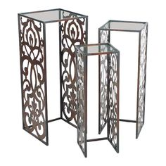 3 Piece Swanson Nesting Table Set