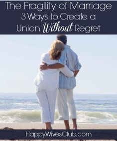 Marriage is fragile. Even when both spouses love, honor and respect each other, they are never promised another day. Create a marriage without regret today.