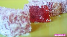 Galaretki truskawkowe