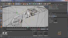 Cinema 4D + Photoshop tutorial: Cracked ground