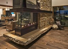 8 best contemporary living fireplaces and more images linear rh pinterest com