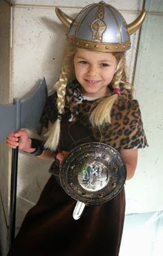 Re-purposing Halloween Costume: From Viking to Pocahontas