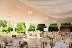 Tent Wedding Venues - Wedding Day Pins : You're Source for Wedding Pins! Tent Wedding, Wedding Pins, Wedding Images, Wedding Designs, Wedding Events, Dream Wedding, Wedding Day, Wedding Stuff, Elegant Wedding