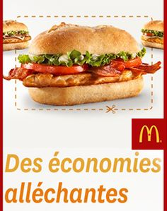 Super coupons chez McDonald. http://rienquedugratuit.ca/coupons/super-coupons-chez-mcdonald/
