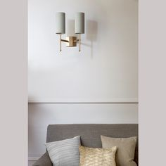 Double Stem Wall Light with SilkApplique - TIGERMOTH LIGHTING An elegant hand-crafted metal stem frame, supporting beautiful silk douppion shades. Metal Lattice, Ceiling Light Fixtures, Sconce Lighting, Wall Sconces, Frame, Wall Lights, Contemporary, Interior Design, Beautiful