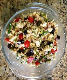 Gael's Crafty Treasures: Greek Couscous Salad recipe