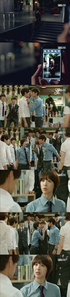'To the Beautiful You' Sulli Takes the Fall For Kiss with Minho