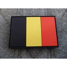JTG - Belgium Flag Patch / 3D Rubber patch, 3,80 €, Jackets to go Berlin