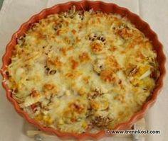 trennkost.com - Rezept Kohlenhydrate: Buntes Kartoffel Gratin