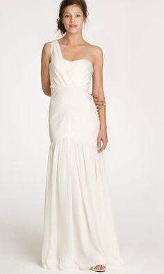 Modern Wedding Gowns: New J. Crew | Modernly Wed
