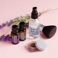 Keep your makeup looking fresh and enjoy the aromatic benefits of this DIY.